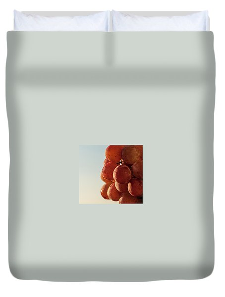 Grapes Cluster Duvet Cover