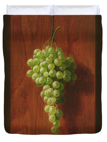 Grapes   Green Duvet Cover