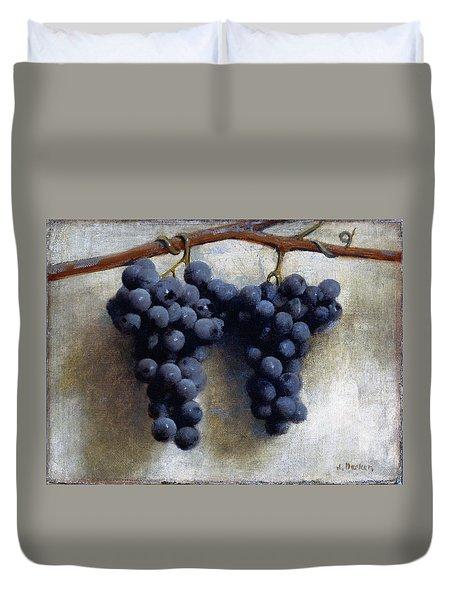 Grapes Duvet Cover