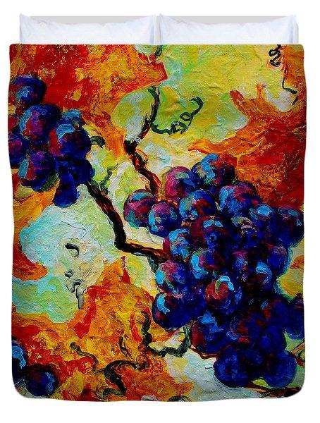 Grapes Mini Duvet Cover