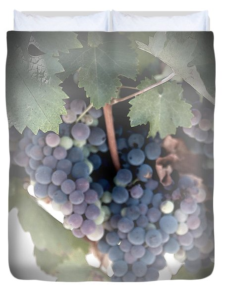 Grapes On The Vine I Duvet Cover by Sherry Hallemeier
