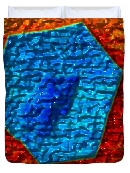 Graphene Layers, Dissipation Duvet Cover