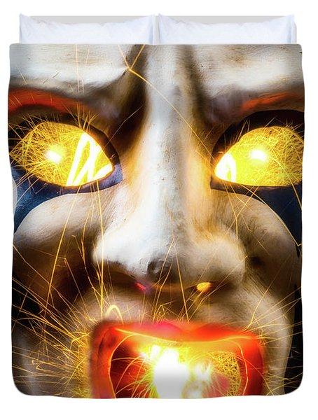 Graphic Hot Mask Duvet Cover