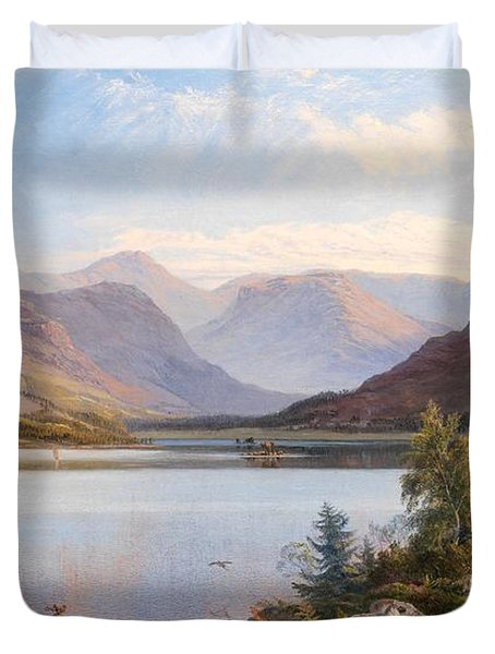 Grasmere Duvet Cover by Henry Moore