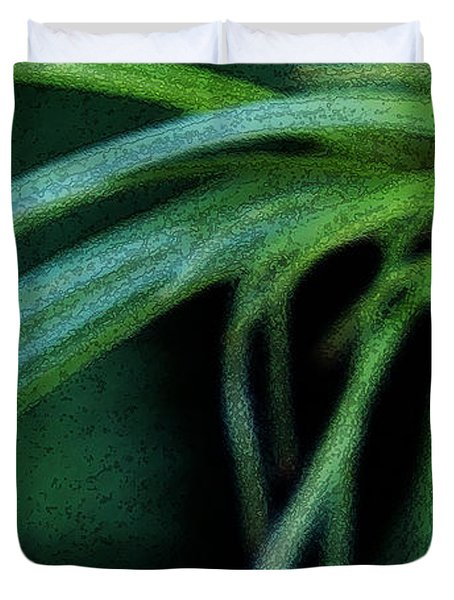 Grass Dance Duvet Cover