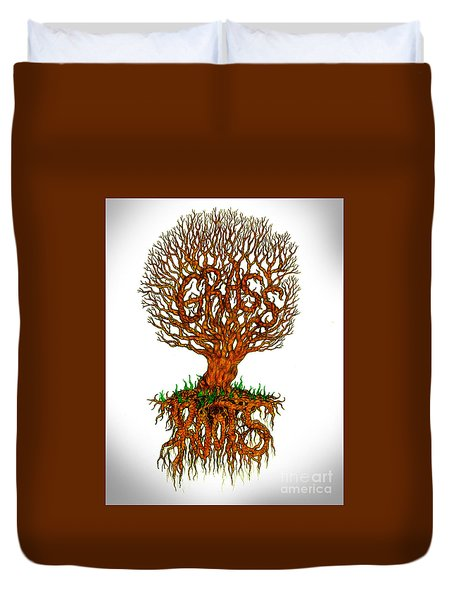 Grass Roots Duvet Cover