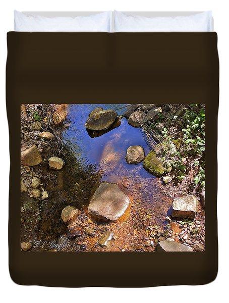 Grass Valley Creek Ca Duvet Cover
