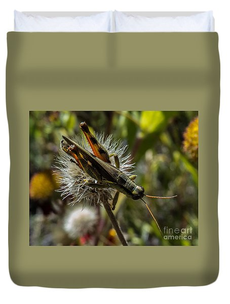 Grasshopper 1 Duvet Cover
