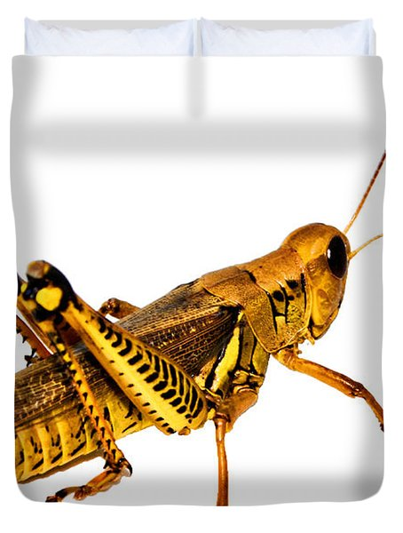 Grasshopper I Duvet Cover by Gary Adkins