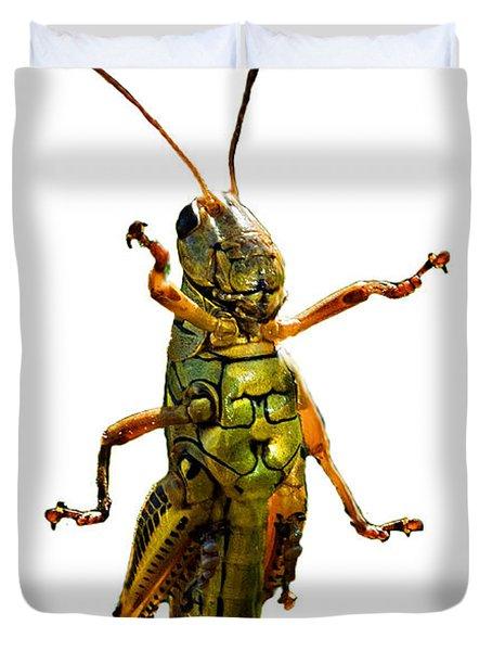 Grasshopper II Duvet Cover
