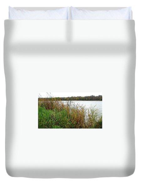 Grassy Bank Duvet Cover