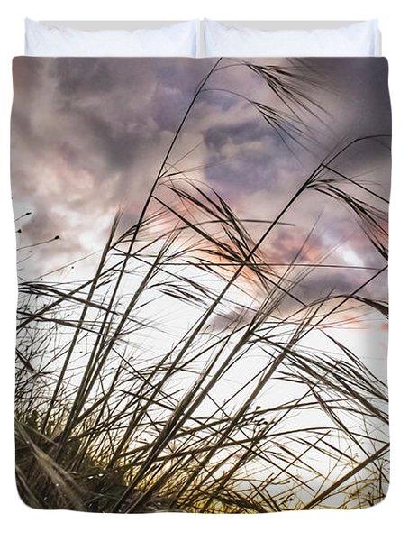 Grassy Knoll Duvet Cover
