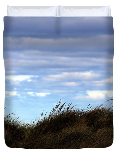 Duvet Cover featuring the photograph Grassy Ridge by Kenneth Campbell