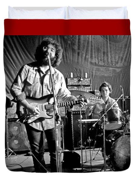 Grateful Dead In Concert - San Francisco 1969 Duvet Cover