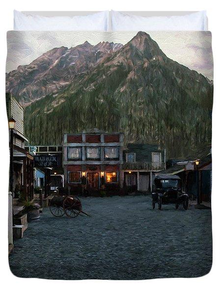 Grateful Heart - Hope Valley Art Duvet Cover