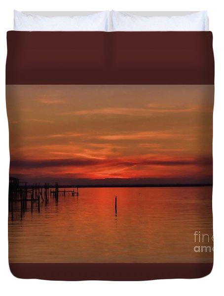 Grateful Sky Duvet Cover