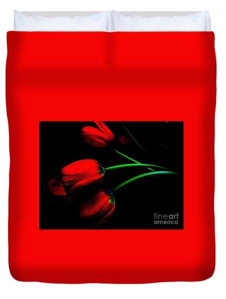 Gratitude Duvet Cover by Elfriede Fulda