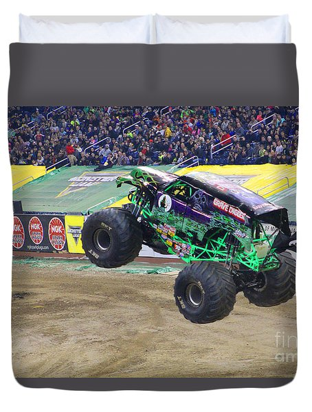Grave Digger  Duvet Cover by Michael Rucker