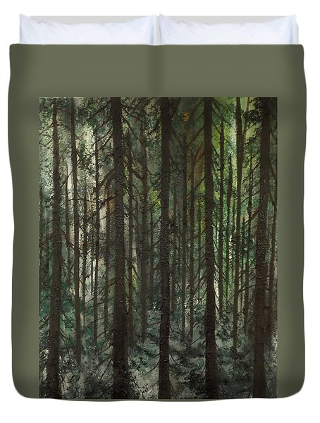Grave Matters Duvet Cover by Lisa Aerts