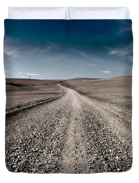 Gravel Dreams Duvet Cover