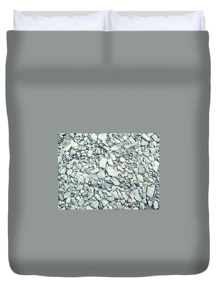 Gravel  Duvet Cover