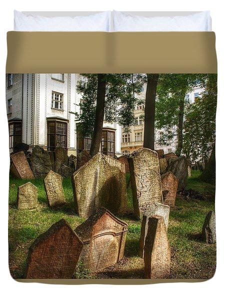 Graveyard Shift I Duvet Cover