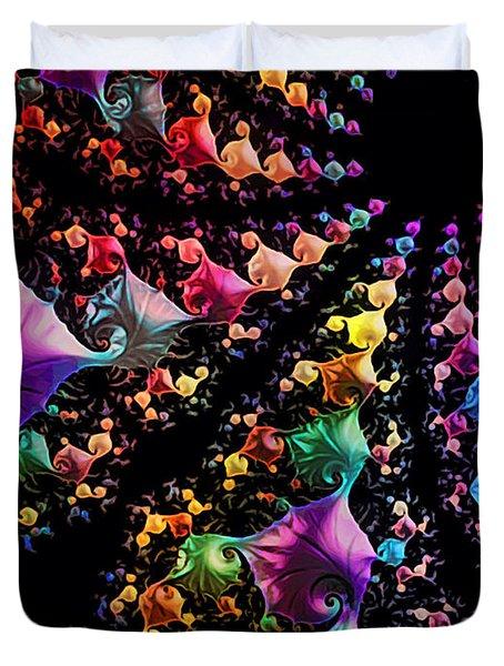 Gravitational Pull Duvet Cover