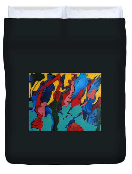 Gravity Prevails Duvet Cover by Bernard Goodman