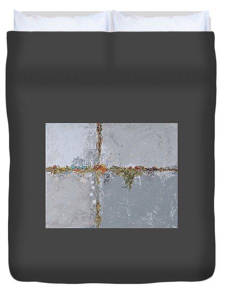 Gray Matters 10 Duvet Cover