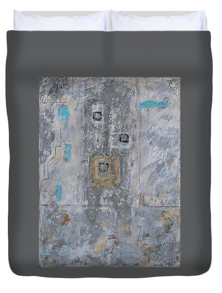 Gray Matters 11 Duvet Cover