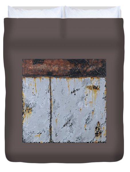 Gray Matters 14 Duvet Cover