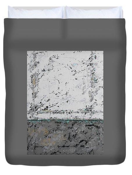Gray Matters 3 Duvet Cover