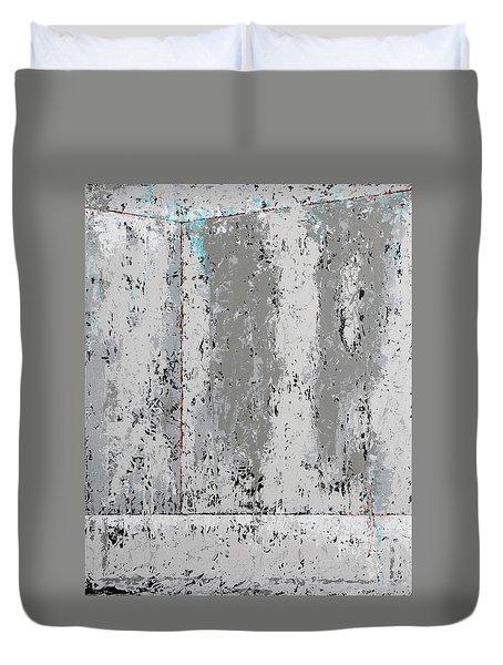 Gray Matters 4 Duvet Cover