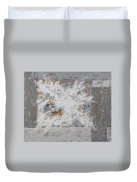 Gray Matters 8 Duvet Cover
