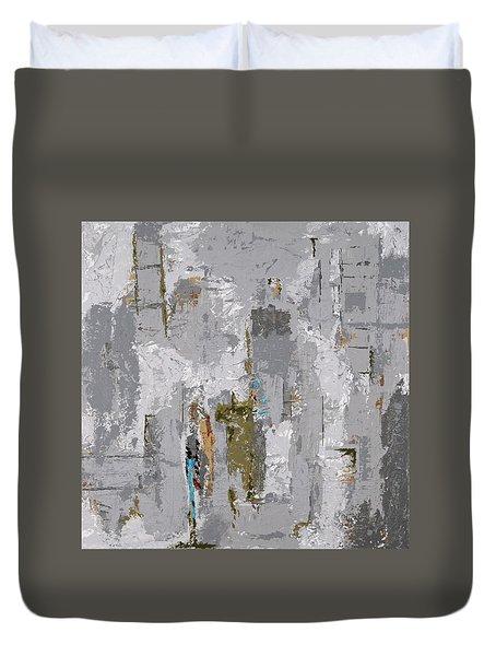 Gray Matters 9 Duvet Cover