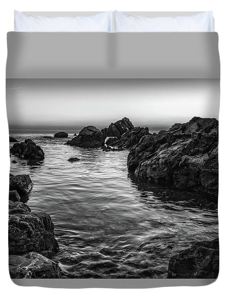 Gray Waters Duvet Cover