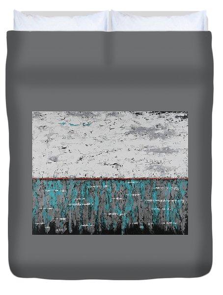 Gray Matters 1 Duvet Cover