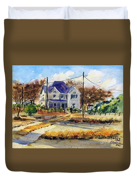 Grayson County Farmhouse Duvet Cover