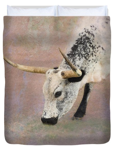 Grazing Duvet Cover by Betty LaRue
