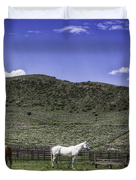Grazing..... Duvet Cover