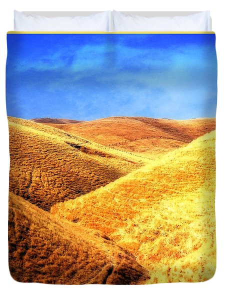 Grazing Land Duvet Cover