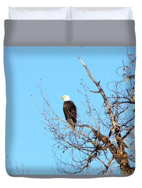Great American Bald Eagle Duvet Cover