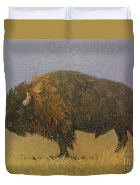 Great American Bison Duvet Cover