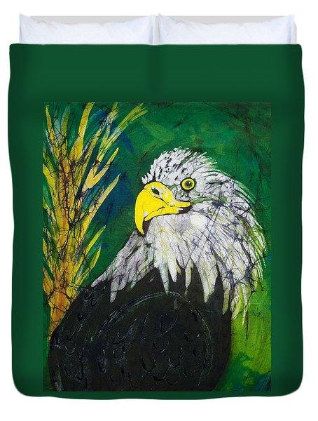 Great Bald Eagle Duvet Cover