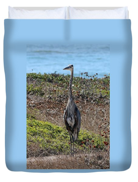 Great Blue Heron - 10 Duvet Cover