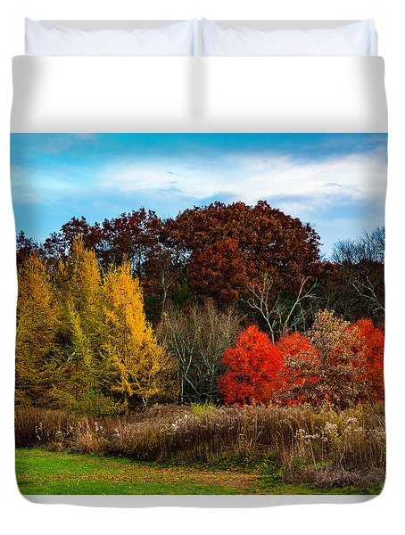 Great Brook Farm Autumn Duvet Cover