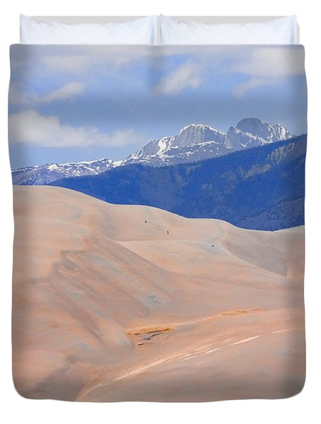 Great Colorado Sand Dunes Duvet Cover by James BO  Insogna