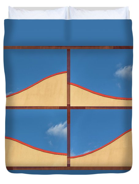 Great Curves -  Duvet Cover