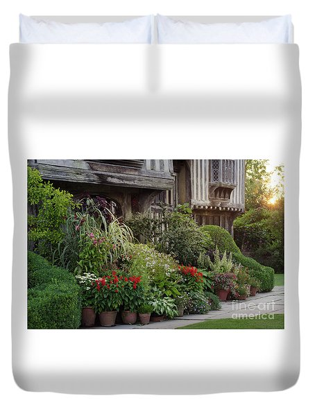 Great Dixter House And Gardens At Sunset 2 Duvet Cover