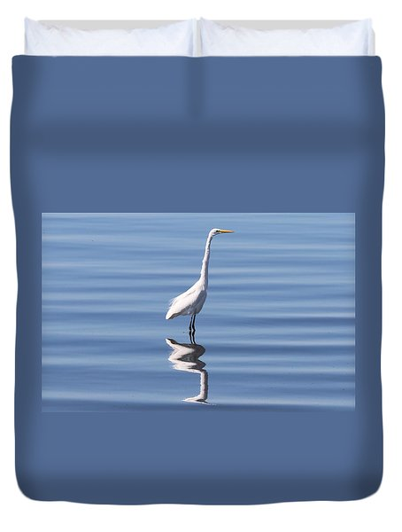 Great Egret - 2  Duvet Cover